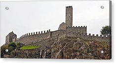Bellinzona - Ticino Acrylic Print by Joana Kruse