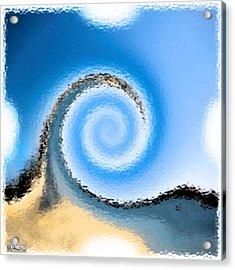 Belmont Surf Acrylic Print
