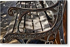 Bench View Acrylic Print