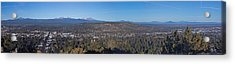 Bend Oregon Panorama Acrylic Print