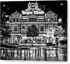 Bergen Tidende Acrylic Print by A A