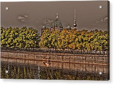 Acrylic Print featuring the photograph Berlin Cathedral ... by Juergen Weiss