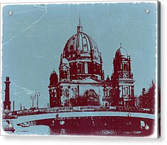 Berlin Cathedral Acrylic Print by Naxart Studio