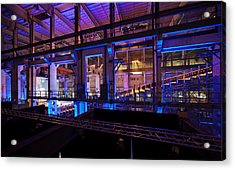 Berlin Powerhouse Event Acrylic Print by Mike Reid