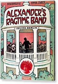 Berlin: Ragtime Band, 1911 Acrylic Print by Granger