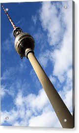 Berlin Television Tower Picture Acrylic Print by Falko Follert