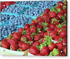 Berries Acrylic Print by Janice Drew