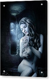 Beside The Window Acrylic Print by Svetlana Sewell
