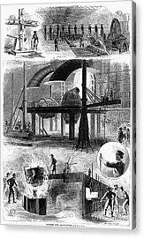 Bessemer Steel, 1876 Acrylic Print by Granger