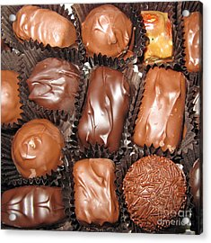 Best Collection Of Chocolate Sweets Square 01 Acrylic Print
