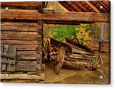 Better Days Acrylic Print by Charles Warren