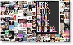 Better To Laugh Acrylic Print by Holley Jacobs
