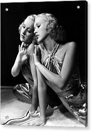 Betty Grable, 1930s Acrylic Print