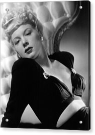Betty Hutton, Paramount Pictures, 1943 Acrylic Print by Everett
