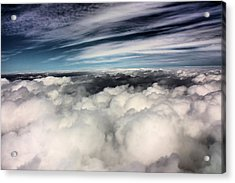 Between Heaven And A Soft Place Acrylic Print by Kristin Elmquist