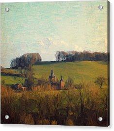 Beusdael Castle Acrylic Print by Nop Briex