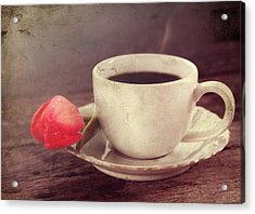 Beverage Acrylic Print by Darren Fisher