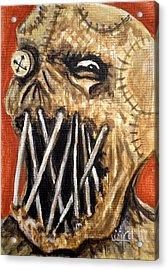 Beware The Fear Acrylic Print by Al  Molina