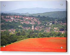 Bewdley On Poppy Acrylic Print