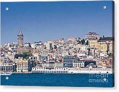 Acrylic Print featuring the photograph Beyoglu by Andrew  Michael