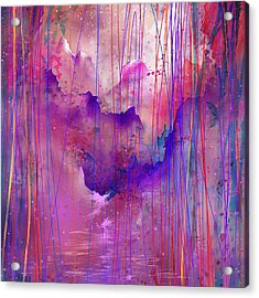 Beyond The Tears Acrylic Print by Rachel Christine Nowicki