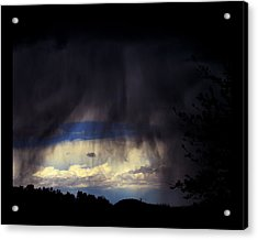 Acrylic Print featuring the photograph Beyond The Veil by Susanne Still