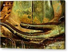 Bhumisparsa Mudra IIi In Colour Acrylic Print by Dean Harte