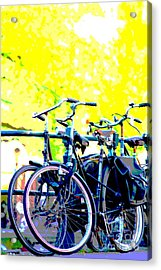 Bicycles Acrylic Print