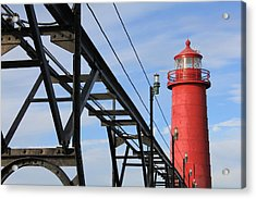Big And Strong Acrylic Print by Sheryl Burns