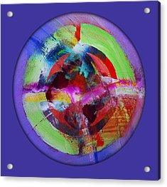 Big Bang Blue Acrylic Print by Charles Stuart