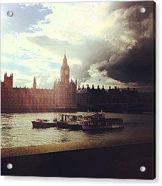 Big Ben Acrylic Print by Samuel Gunnell