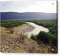 Big Bend Park Overlooking The Rio Grand River Acrylic Print