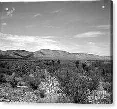 Big Bend Vista Acrylic Print