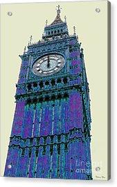 Big Blue Ben Acrylic Print by Beth Saffer