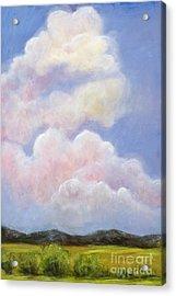 Big Blue Colorado Sky Acrylic Print