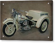 Acrylic Print featuring the photograph Big Boy Tricycle by Bill Dutting