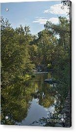 Big Chico Creek Reflection Acrylic Print