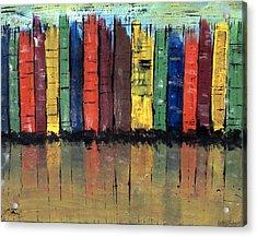 Big City Color Acrylic Print by Kathy Sheeran