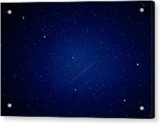 Acrylic Print featuring the photograph Big Dipper And Iridium by Matti Ollikainen
