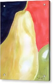 Acrylic Print featuring the painting Big Fruit by Alethea McKee