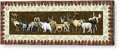 Big Game Lodge Acrylic Print