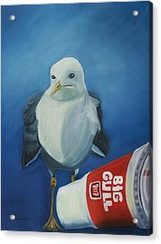 Big Gull Acrylic Print by Amy Reisland-Speer