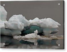 Big Ice Little Ice Acrylic Print by Stan Wojtaszek