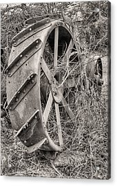 Big Iron Acrylic Print by JC Findley