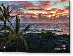Big Island Sunrise Acrylic Print