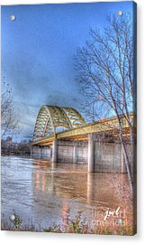 Big Mac Bridge Acrylic Print
