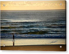 Acrylic Print featuring the photograph Big Ocean  by Eric Tressler