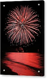 Big Red Acrylic Print by Bill Pevlor
