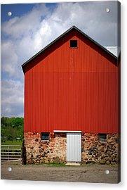 Big Red Acrylic Print by Linda Mishler