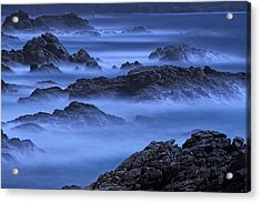 Acrylic Print featuring the photograph Big Sur Mist by William Lee